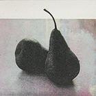 Birnen, 2013, Fototiefdruck, Cine collé, 7 x 9 cm (Plattengrösse)