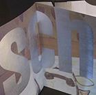 Booklet Sch, 2018, Zeitungsdruck, Hochdruck, 17.2 x 12 cm